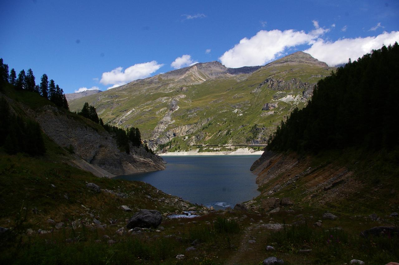 Et - Lac du chevril ...